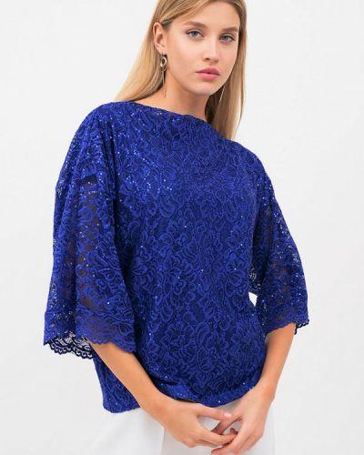 Синяя блузка осенняя Lussotico