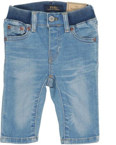 Niebieskie szorty jeansowe Ralph Lauren