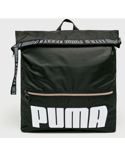 Черный рюкзак с отделениями Puma