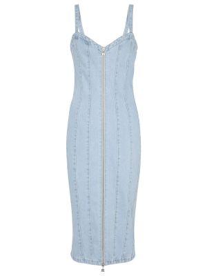 Niebieska sukienka bawełniana Rotate Birger Christensen