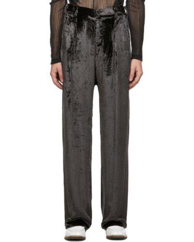 Spodnie z paskiem Sulvam