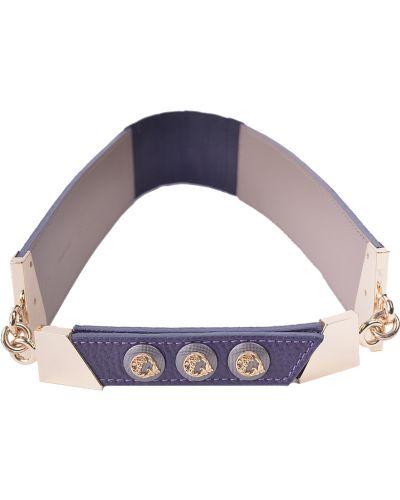 Ремень фиолетовый Versace Collection