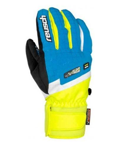 Синие перчатки Reusch