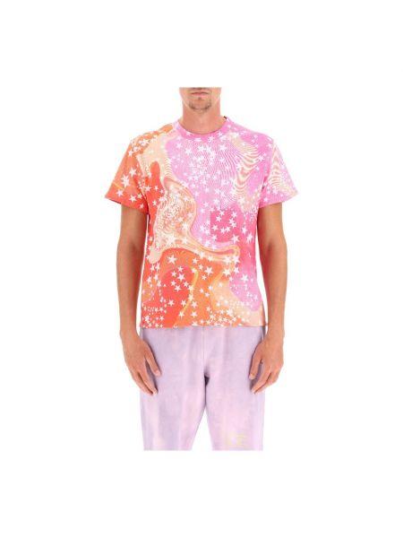 Różowa t-shirt Erl