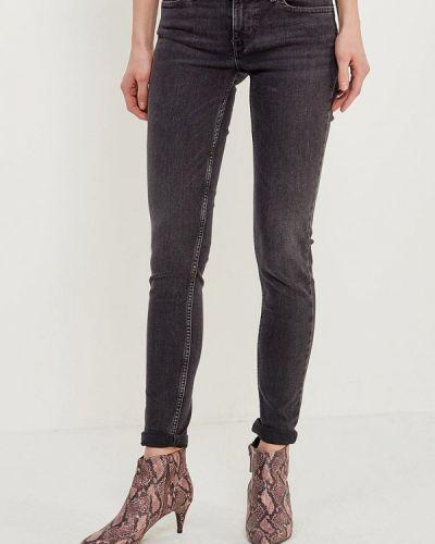 Серые джинсы-скинни Levi's®