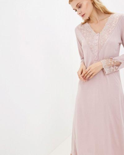 Платье розовое осеннее Natural Life