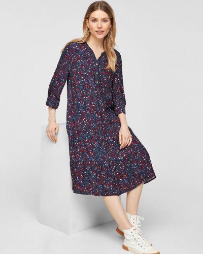 Джинсовое платье - синее S.oliver