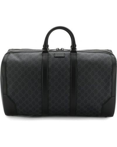 Черная дорожная сумка Gucci