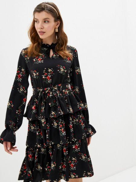 Платье прямое черное Trendyangel