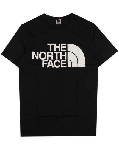 Czarna podkoszulka bawełniana The North Face