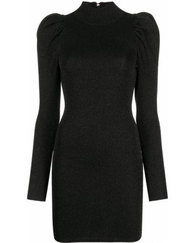 Платье макси длинное - черное Alice+olivia