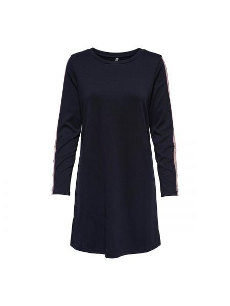 Платье миди с длинными рукавами прямое Only