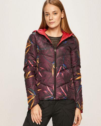 Оранжевая спортивная куртка с запахом Desigual Sport