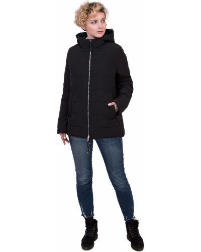 С рукавами утепленная куртка на молнии J-splash
