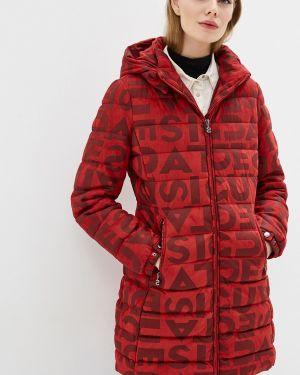 Зимняя куртка утепленная осенняя Desigual