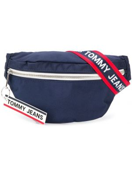 Поясная сумка на молнии с логотипом Tommy Hilfiger
