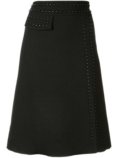 Юбка с завышенной талией юбка-колокол Giambattista Valli