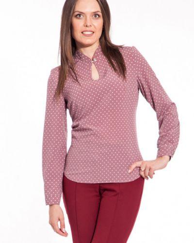 Блузка с принтом с воротником Modellos