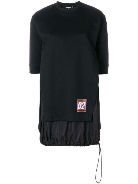 Платье классическое черное Dsquared2