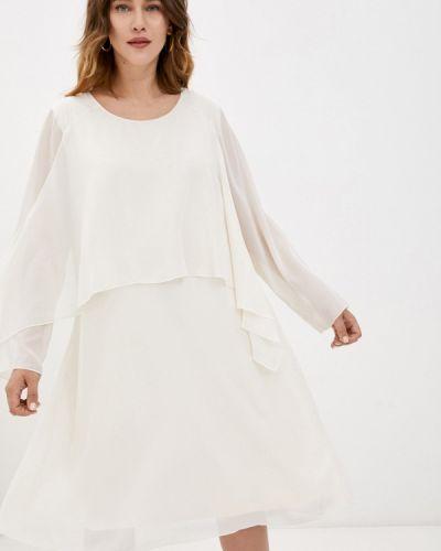 Бежевое вечернее платье Samoon By Gerry Weber