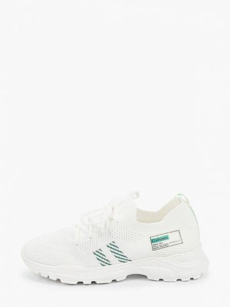 Белые текстильные кроссовки Sprincway