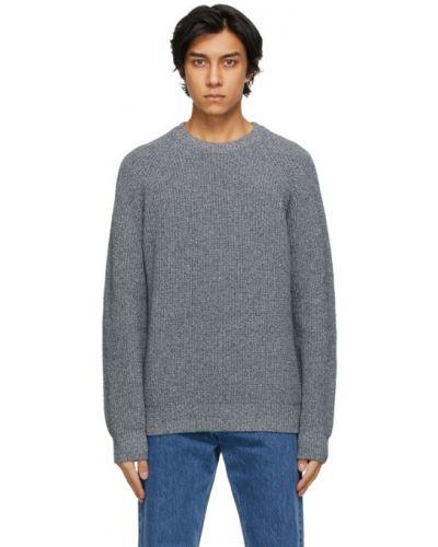 Długi sweter bawełniany z długimi rękawami Norse Projects