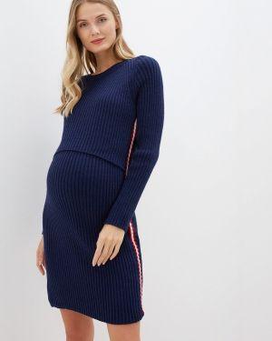 Платье - синее мамуля красотуля ..в ожидании чуда
