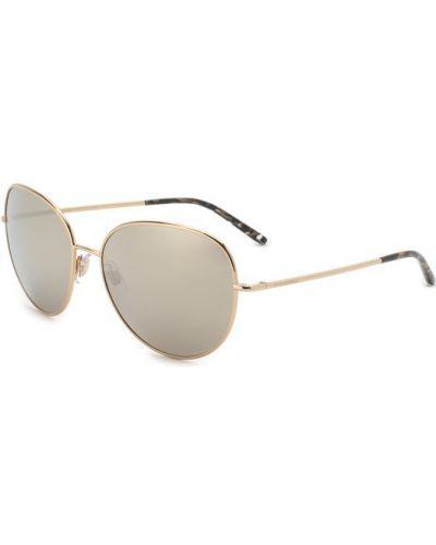 Солнцезащитные очки металлические с логотипом Dolce & Gabbana