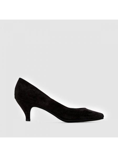 Туфли на высоком каблуке кожаные на каблуке Castaluna
