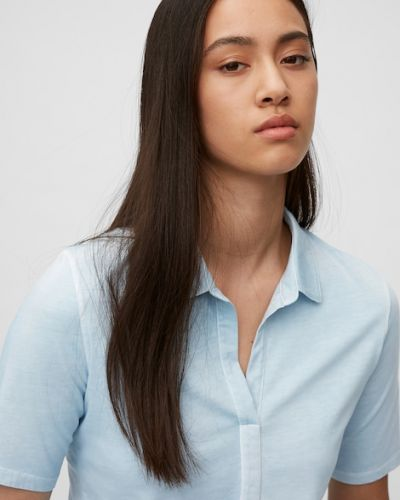Niebieska koszulka bawełniana Marc O Polo