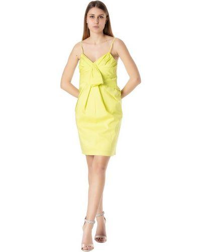 Żółta sukienka Atos Lombardini