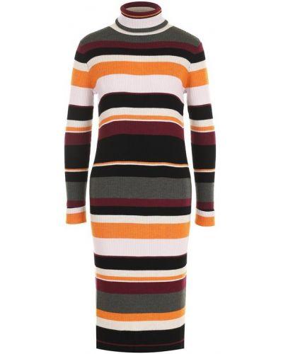 Платье миди теплое с длинными рукавами Paul&joe