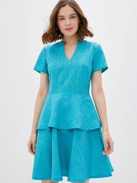 Зеленое повседневное платье Maurini