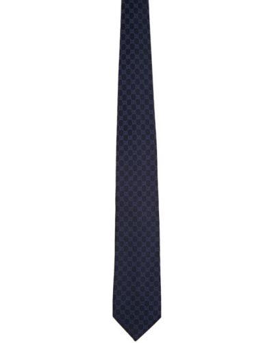 Белая шелковая резинка для волос с подкладкой Gucci