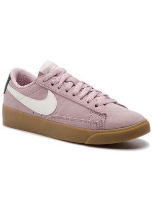 Blezer skórzany zamsz Nike