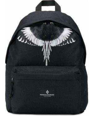 Рюкзак черный с логотипом Marcelo Burlon County Of Milan Kids