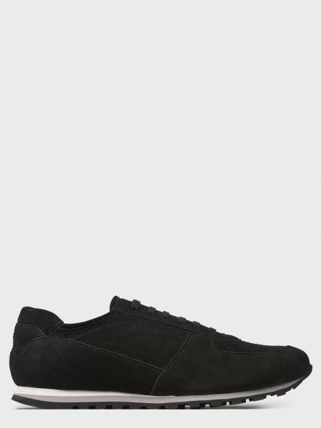 Кожаные повседневные черные кроссовки Andrea Ventura