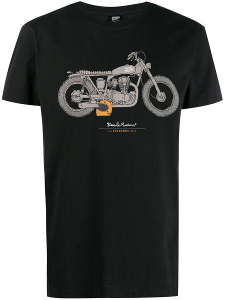 Черная футболка Deus Ex Machina