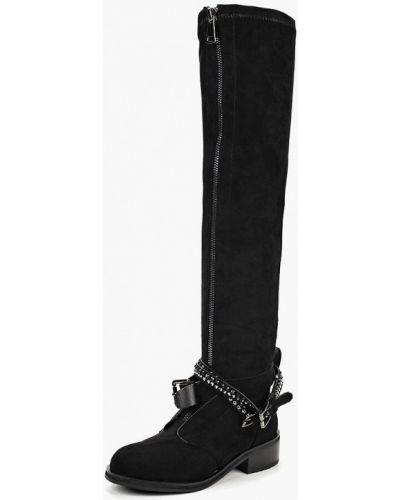 Ботфорты на каблуке кожаные Wilmar