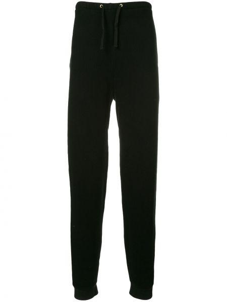 Черные спортивные брюки с карманами Makavelic
