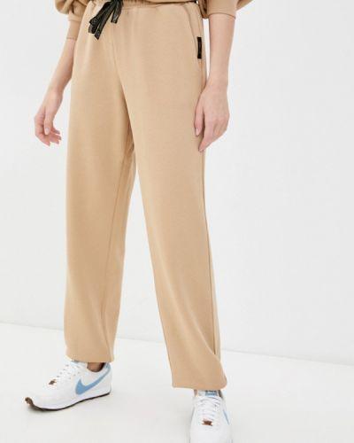 Бежевые спортивные брюки Danmaralex