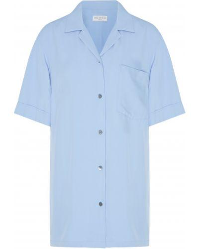 Классическая рубашка с карманами из вискозы Dries Van Noten