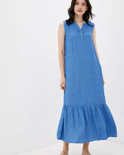 Повседневное свободное синее платье Finn Flare