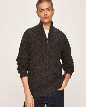 Sweter z kołnierzem z wzorem Produkt By Jack & Jones