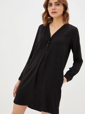 Прямое платье - черное Sack's