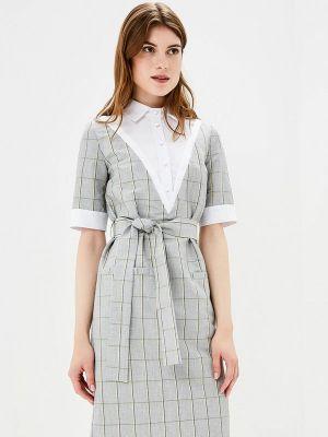 Платье серое Bezko