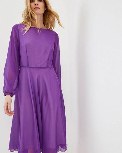 Платье прямое фиолетовый Irina Vladi