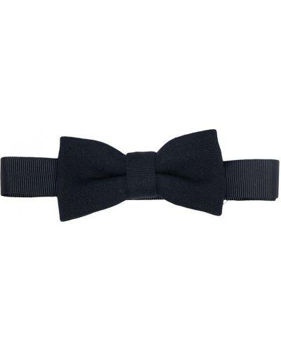 Синий галстук-бабочка из вискозы с бабочкой на крючках Le Bebé Enfant