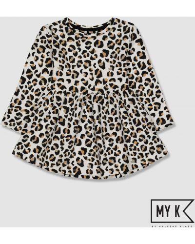 Платье леопардовое Mothercare