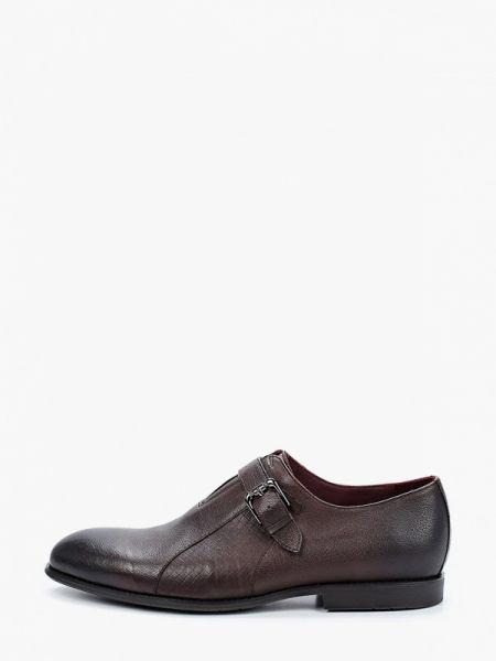 Туфли лаковые коричневый El'rosso